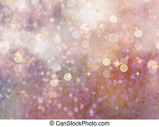 Defekte beidge Lichter. Glitter. EPS 10