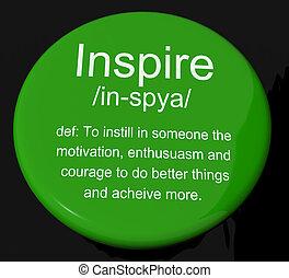 definition, motivation, eingeben, taste, ermutigung, shows, inspiration