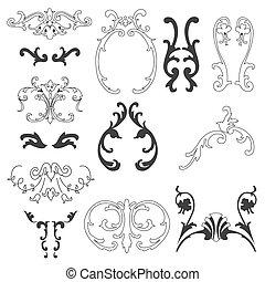 dekorative elemente, design