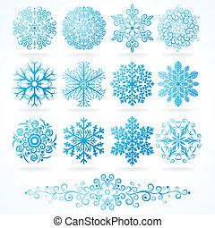 Dekorative Winterelemente