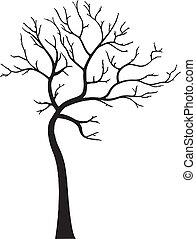Dekorativer Baum ohne Blätter
