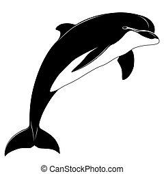 Delfin, Tattoo