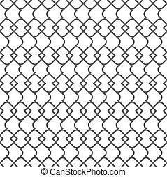 Delicate monochrome Muster nahtlos - Variation 1