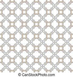Delicate nahtlose Muster im islamischen Stil