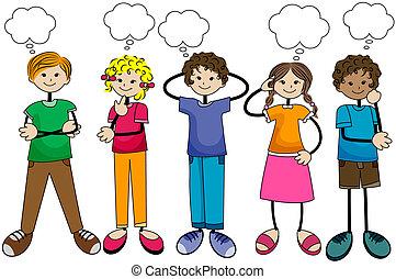Denkende Kinder