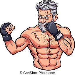 Der alte MMA-Kämpfer