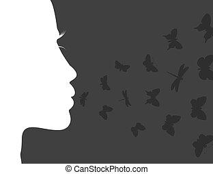 Der Atem des Schmetterlings