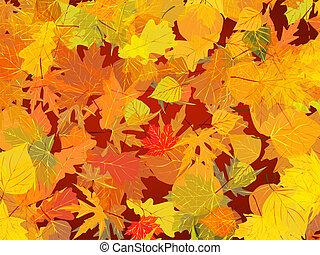 Der Herbst hinterlässt Hintergrund.