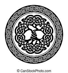 Der keltische Baum des Lebens.