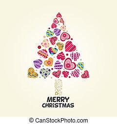 Der Weihnachtsbaum der Liebe