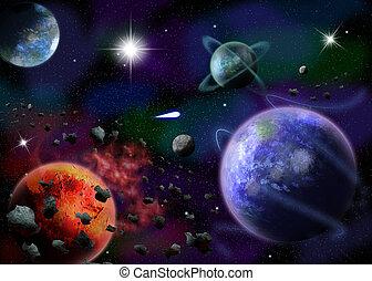 Der Weltraum