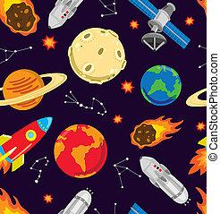 Der Weltraum ist nahtlos