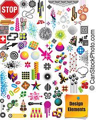 Design-Element-Sammlung