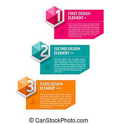Design Elemente Vorlage.