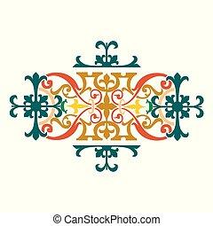 design, künstlerisch, garniert