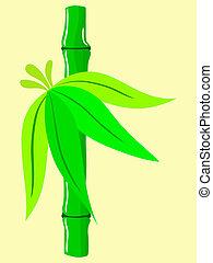 Design mit Bambus.