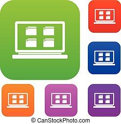 Desktop Set Sammlung