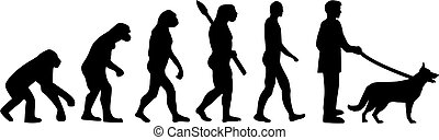 Deutsche Hirte Evolution.