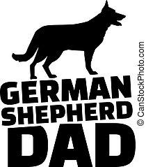 Deutscher Hirte Dad.