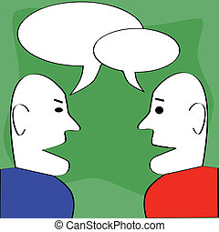Dialog.