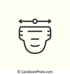 Diapergrößen-Symbol