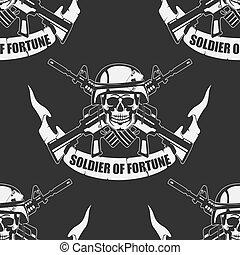 Die Army hat einen nahtlosen Hintergrund