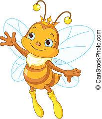 Die Bienenkönigin.