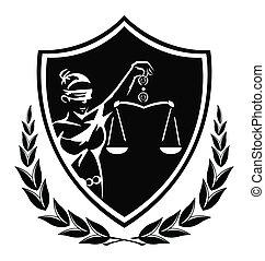 Die Dame der Justiz