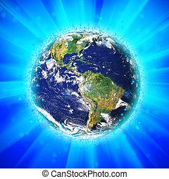 Die Erde zerstören