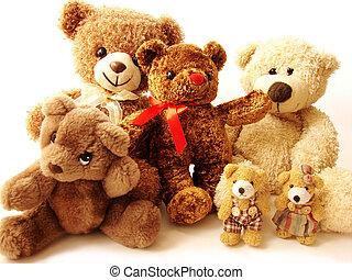 Die Familie der Teddybären