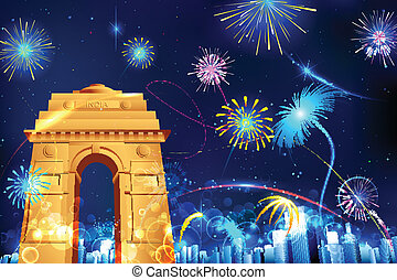 Die Feier von Indien
