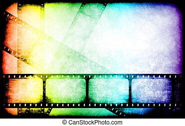 Die Filmindustrie hebt die Rollen hervor