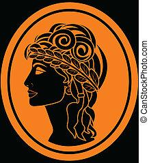 Die griechische Frau