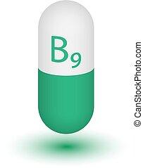 Die Ikone des Vitamin B9.