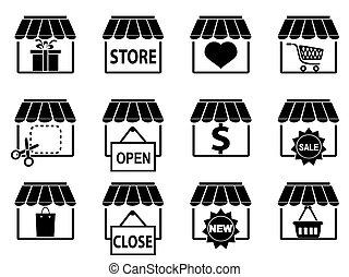Die Ikonen vom Black Store sind bereit.