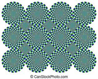 Die Illusion von Diamantenrädern
