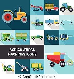 Die landwirtschaftlichen Symbole sind gesetzt.