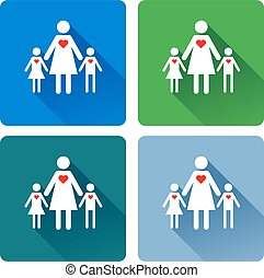 Die Liebe einer Mutter.