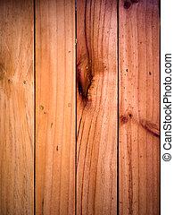 Die Struktur des alten Holzvertikals
