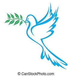 Die Taube des Friedens
