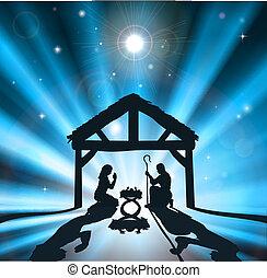 Die Weihnachts-Nativität