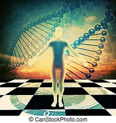 Die Zeit ist um! Umwelthintergründe mit menschlicher DNA abschaffen
