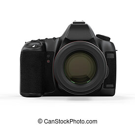 Digitale SLR-Kamera isoliert