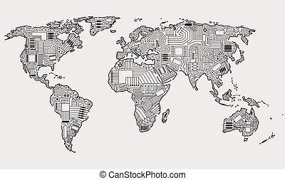 Digitale Welt.