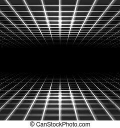 Dimensionsgitterraum.