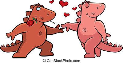 Dinosaurier-Romanze