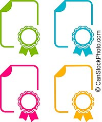 Diploma-Vektor-Icon.