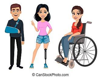 disabilities., leute