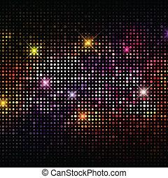 Disco-Leuchten Hintergrund