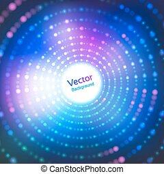 Disco-Licht.